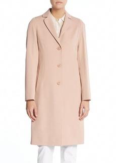 Cinzia Rocca Cotton & Wool Blend Coat