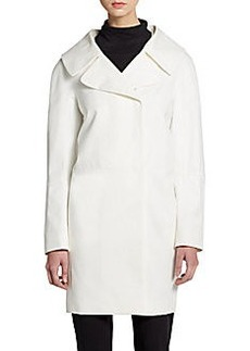 Cinzia Rocca Cotton Cocoon Coat
