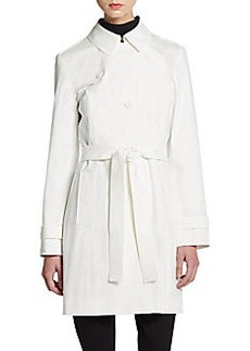 Cinzia Rocca DUE Cotton-Blend Trench Coat