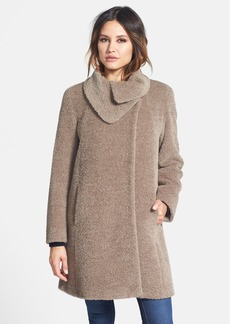 Cinzia Rocca DUE Envelope Collar Wool & Alpaca Coat (Petite)