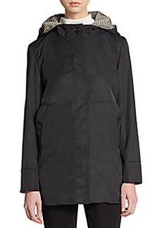 Cinzia Rocca DUE Hooded Nylon Jacket