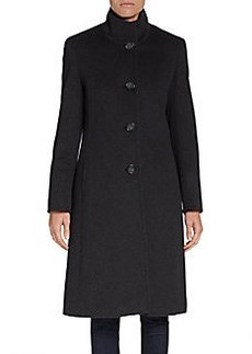 Cinzia Rocca DUE Long Wool-Blend Coat
