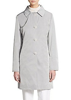 Cinzia Rocca DUE Nylon Button-Front Coat