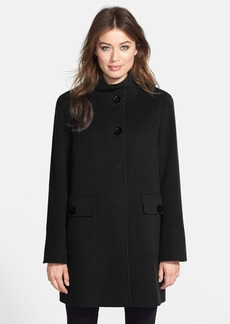 Cinzia Rocca DUE Patch Pocket Wool & Cashmere Blend Car Coat