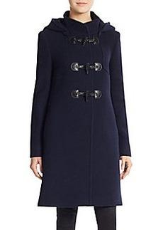 Cinzia Rocca DUE Wool-Blend Duffle Coat
