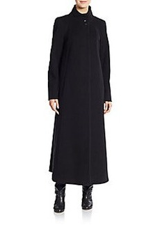 Cinzia Rocca DUE Wool/Cashmere-Blend Long Coat