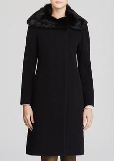 Cinzia Rocca Fur Collar Coat