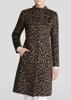 Cinzia Rocca Leopard Print Coat