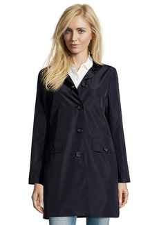 Cinzia Rocca midnight water resistant button front 3/4 length ...