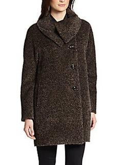 Cinzia Rocca Mélange Wool-Blend Coat