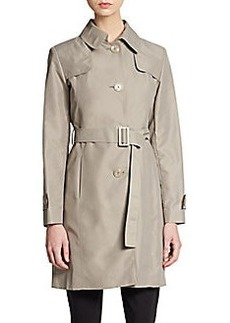 Cinzia Rocca Nylon Belted Trench Coat