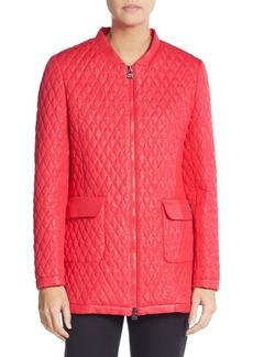Cinzia Rocca Quilted Rain Jacket