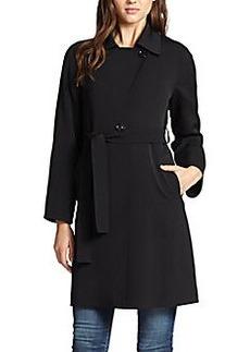Cinzia Rocca Raglan Belted Coat
