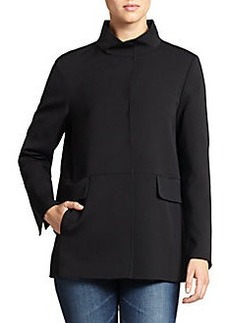 Cinzia Rocca Reversible Wool Blend Jacket