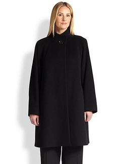 Cinzia Rocca, Sizes 14-24 A-Line Walking Coat