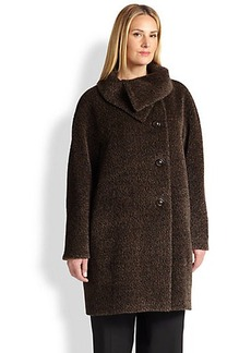 Cinzia Rocca, Sizes 14-24 Melange Coat