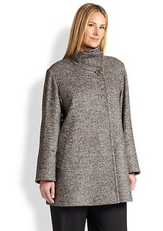 Cinzia Rocca, Sizes 14-24 Tweed Car Coat