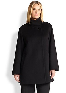 Cinzia Rocca, Sizes 14-24 Wool Car Coat