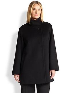 Cinzia Rocca, Sizes 14-24 Wool Car Coat