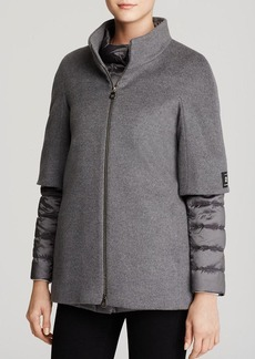 Cinzia Rocca Two Piece Wool Coat