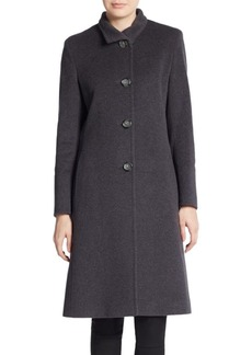 Cinzia Rocca Virgin Wool-Blend Coat
