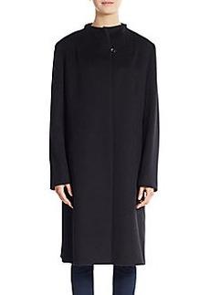 Cinzia Rocca Virgin Wool Walking Coat