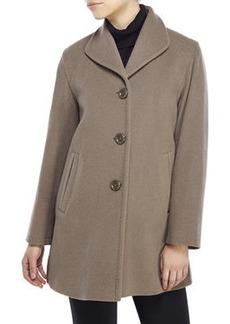 cinzia rocca Wing Collar Short Coat