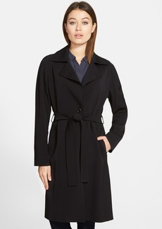 Cinzia Rocca Wool Wrap Trench Coat