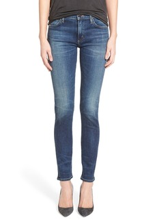 Citizens of Humanity 'Agnes' High Rise Slim Straight Leg Jeans (Euclid)