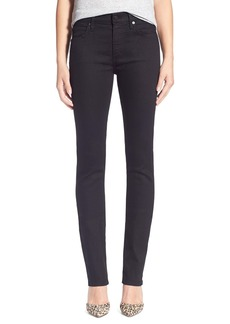 Citizens of Humanity 'Agnes' High Rise Straight Leg Jeans (Black Onyx)