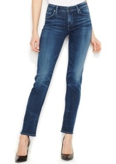 Citizens of Humanity Arielle Petite Mid-Rise Skinny Jeans, Medium Indigo Wash