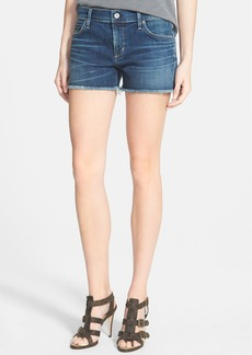 Citizens of Humanity 'Ava' Frayed Denim Shorts