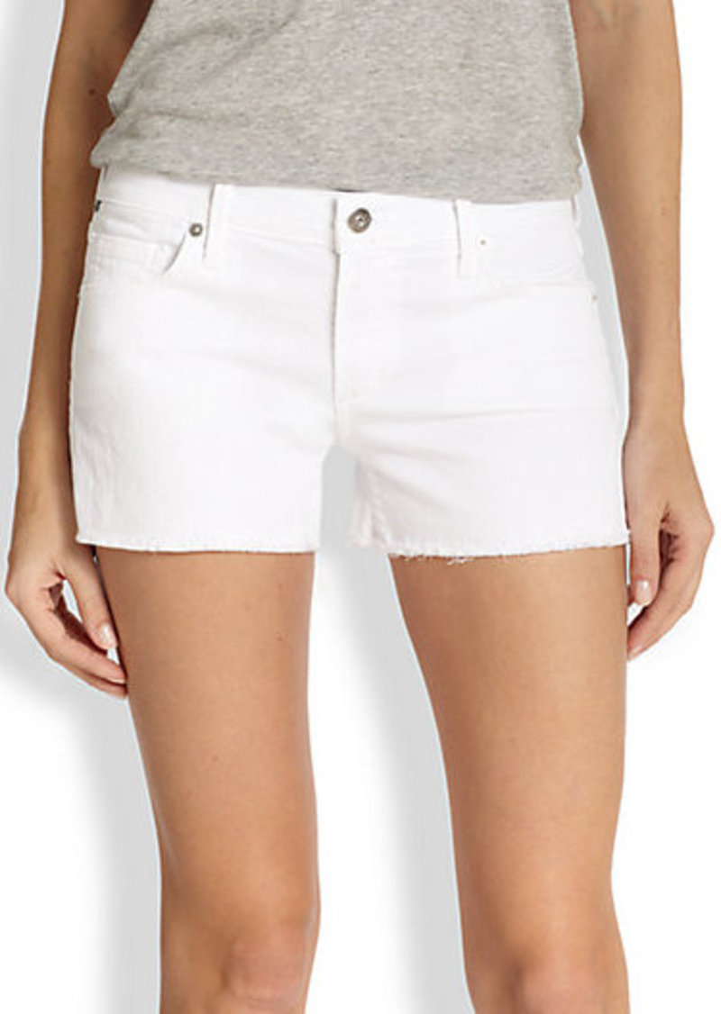 Citizens of Humanity Ava Santorini Stretch Denim Shorts