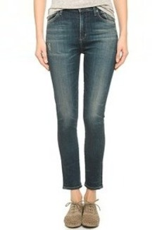 Citizens of Humanity Carlie High Rise Cropped Jeans