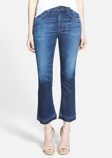 Citizens of Humanity 'Drew' Crop Flare Jeans (Waterfront)
