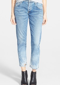 Citizens of Humanity 'Emerson' Destructed Boyfriend Jeans (Splattered)
