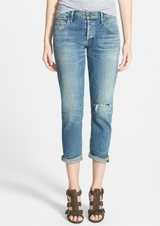 Citizens of Humanity 'Emerson' Distressed Crop Jeans (Madera Light)