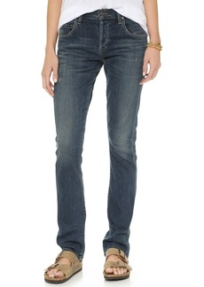 Citizens of Humanity Emerson Long Slim Fit Boyfriend Ankle Jeans.