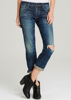 Citizens of Humanity Jeans - Emerson Slim Fit Boyfriend in Madera Dark