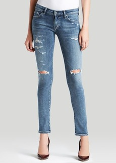 Citizens of Humanity Jeans - Racer Low Rise Skinny in Distressed Gaze