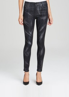 Citizens of Humanity Jeans - Rocket High Rise Skinny in Lacquered