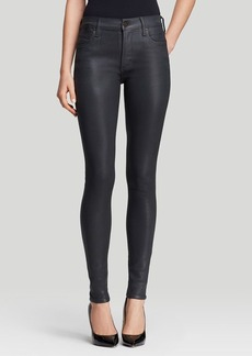 Citizens of Humanity Jeans - Rocket High Rise Skinny in Meteorite Leatherette