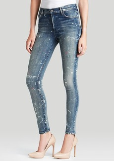 Citizens of Humanity Jeans - Rocket High Rise Skinny in Starry Light