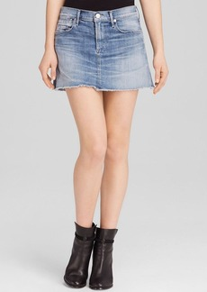 Citizens of Humanity Daria Denim Mini Skirt in Echo