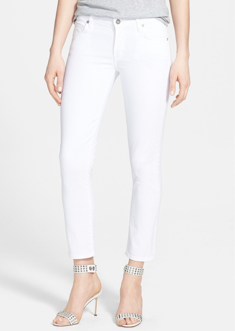 Citizens of Humanity 'Phoebe' Slim Straight Crop Jeans (Santorini)