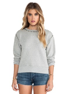 Citizens of Humanity Premium Vintage Camryn Sweatshirt in Gray