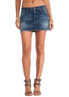 Citizens of Humanity Premium Vintage Daria Mini Skirt in Legacy