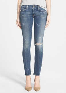 Citizens of Humanity 'Racer' Distressed Skinny Jeans (Distressed Slash)