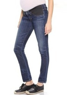Citizens of Humanity Racer Low Rise Maternity Skinny Jeans