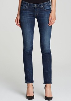 Citizens of Humanity Racer Low Rise Skinny Jeans in Patina